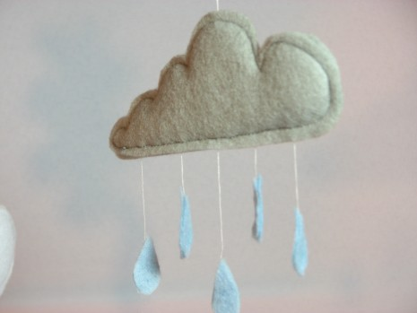 Weather Mobile by Ena Green Designs £15