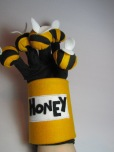 Bees around a Honeypot Glove Puppet by Ena Green Designs