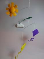 Kite Mobile by Ena Green Designs