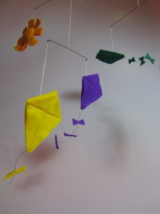 Kite Mobile by Ena Green Designs