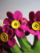 Flower Pot Glove Puppet by Ena Green Designs