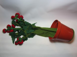 Tomato Plant Glove Puppet