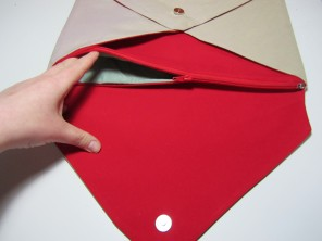Envelope Clutch Bag by Ena Green Designs