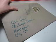 Envelope Clutch Bag by Ena Green Designs