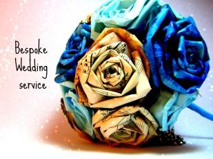 Bespoke Wedding Service Ena Green Designs Paper Wedding Flowers