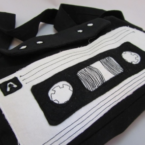 Cassette Bag by Ean Green Designs