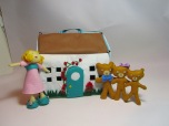 Goldilocks and The Three Bears Felt Playhouse by Ena Green Designs