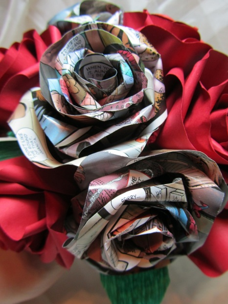 Spiderman Bouquet by Ena Green Designs