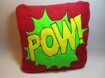 POW Fleecy Cushion by Ena Green Designs £20