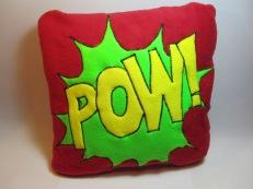 POW Fleecy Cushion by Ena Green Designs £20