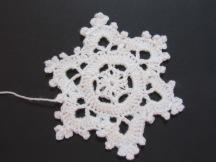Crochet Snowflake by Ena Green designs