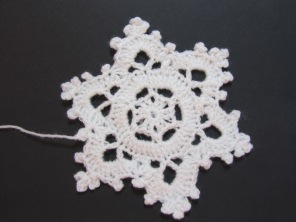 Crochet Snowflake by Ena Green designs