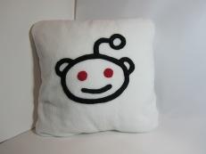 Reddit Fleecy Cushion by Ena Green Designs £20
