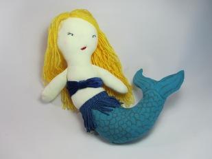 Mermaid Doll by Ena Green Deigns