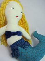 Mermaid Doll by Ena Green Designs
