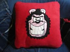 Gnasher Fleecy Cushion by Ena Green Designs £30