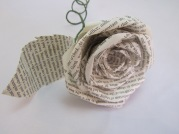 Single Book Rose by Ena Green Designs £8