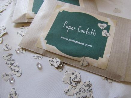 Paper Confetti by Ena Green Designs