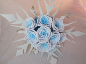Winter Paper Bouquet by Ena Green Designs