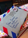 Airmail Laptop Case by Ena Green Designs
