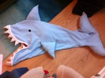Shark Snuggle Bag by Ena Green Designs £50