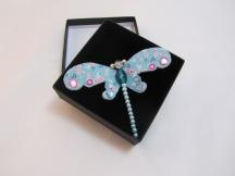 Dragonfly Brooch by Ena Green Designs