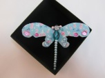 Dragonfly Brooch by Ena Green Designs