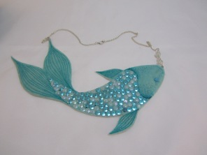 Fish Necklace by Ena Green