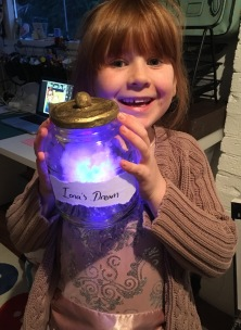 BFG Dream Jar Night Light by Ena Green Designs