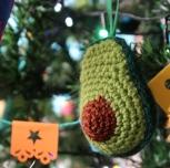 Crochet Avocado by Ena Green