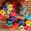 Crochet Flower Garland by Ena Green