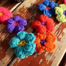 Crochet Flowers by Ena Green