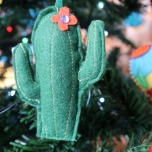 Felt Cacti by Ena Green
