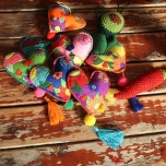 Felt Hearts by Ena Green