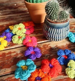 Flower Garland by Ena Green