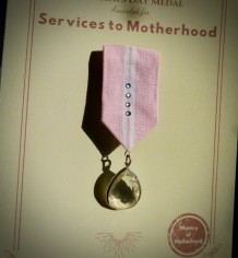 Mothers Day Medal By Ena Green4 2